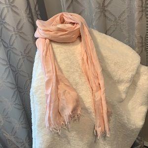 EUC:  Light Pink Lightweight J crew scarf